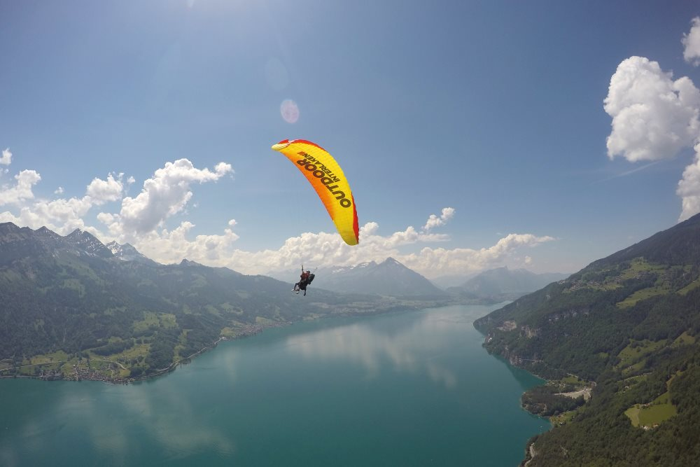 Outdoor Abenteuer in der Campingregion Interlaken-Brienzersee-Thunersee